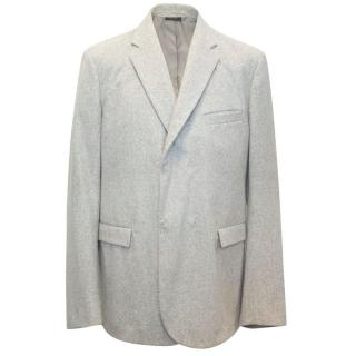 Jil Sander Men's Grey Blazer