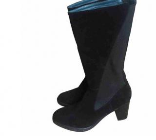 Castagner  black suede boots