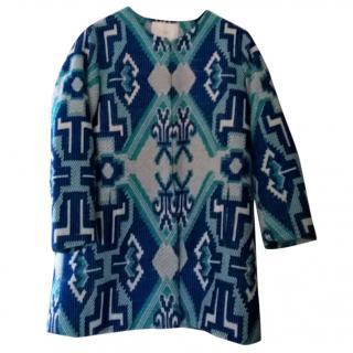 Maje Aztec Coat