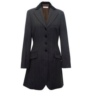 Alberta Ferretti women's long blazer