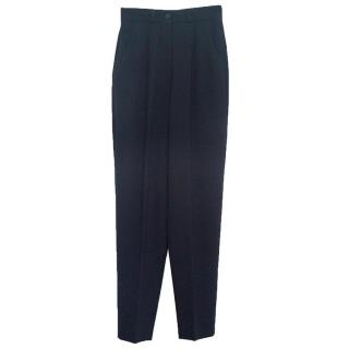 Giorgio Armani women's navy trousers