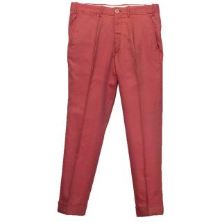 Tom Ford Red Trousers