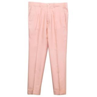 Tom Ford men's pink trousers