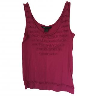 Marc Jacobs Ruffled Tank Top