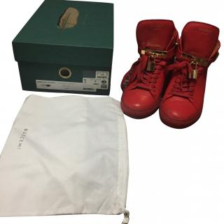 Buscemi women's Italian leather shoes