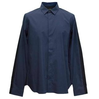 Jil Sander Men's navy blue shirt