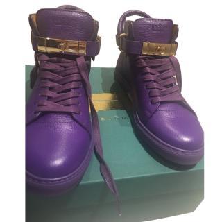 Buscemi Purple Sneakers uk size 7/ 40 new
