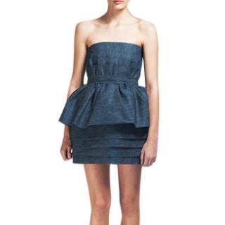 ACNE BAROQUE DRESS in demin