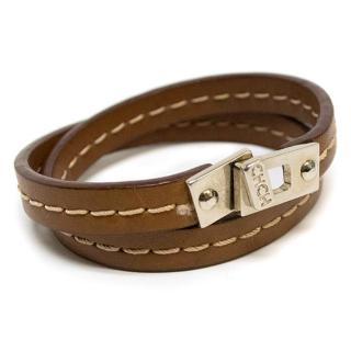 Carolina Herrera Brown bracelet