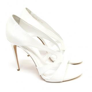 Casadei White patent leather pumps