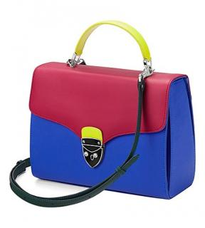 Aspinal of London Etre Cecile Mayfair Leather Cross-body Bag