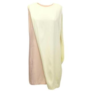 Phillip Lim baby pink and yellow dress