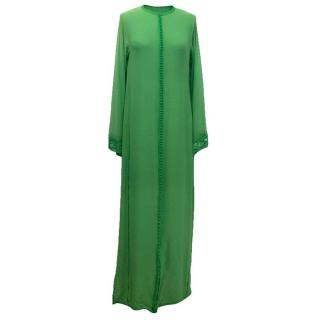 Luxury green kaftan