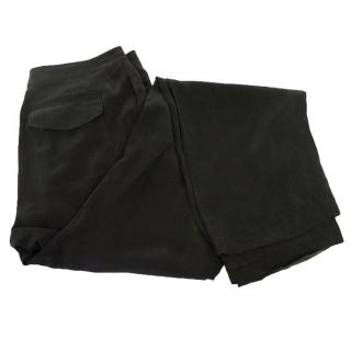 T by Alexander Wang black trousers