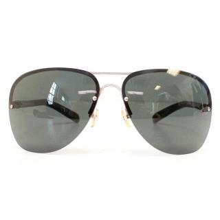 Dsquared black aviator sunglasses