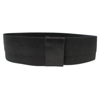 Donna Karan black elasticated belt
