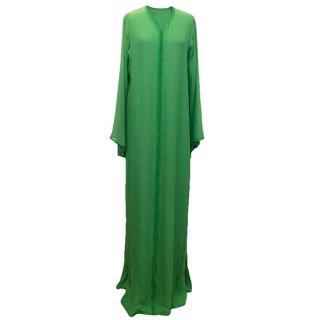 Luxury green kaftan