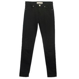 Pinko black jeans with studs