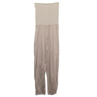 Eres nude strapless jumpsuit
