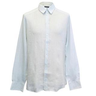 Dolce & Gabbana men's light blue shirt