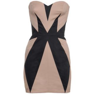 Sass & Bide the Desired Effect Strapless Fitted Panel Dress