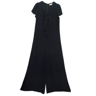 Stella McCartney navy blue jumpsuit