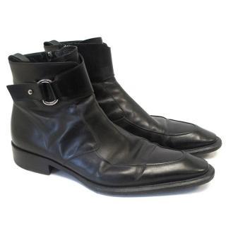 Cesare Paciotti black boots