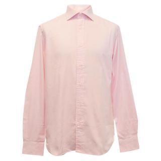 Boggi Milano men's pink shirt
