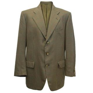 Arthur Fox Checked Blazer