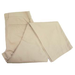 Uniqlo men's beige trousers