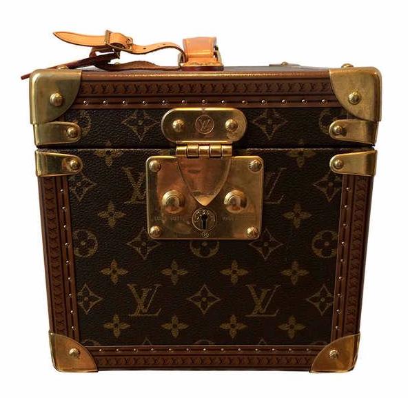 Louis Vuitton  Vintage Boite Flacons Beauty Monogram Canvas Case