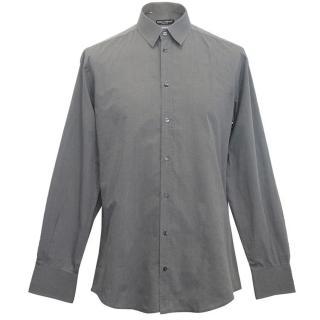 Dolce and Gabbana men's grey shirt