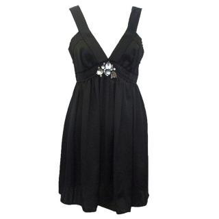 Lanvin black sleeveless top/dress