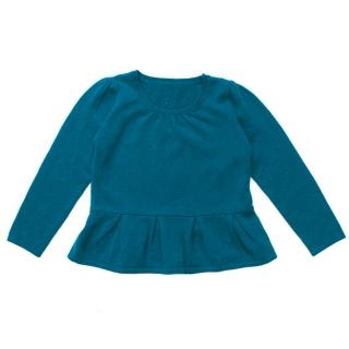 Marie Chantel girl's petrol blue jumper