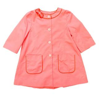 Marie Chantal girl's pink coat