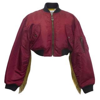 Jeremy Scott for Adidas bomber jacket