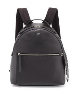 Fendi leather crocodile tail backpack