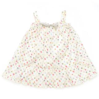 Marie Chantal floral sleeveless top