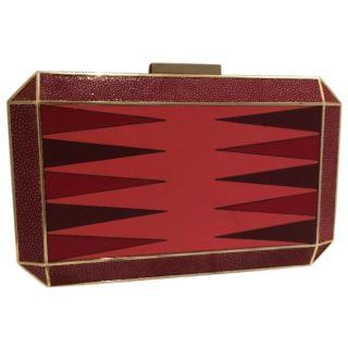 anya hindmarch stingray box clutch bag
