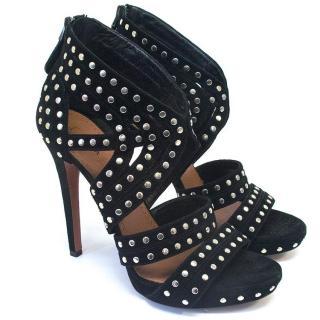 Alaia studded sandals