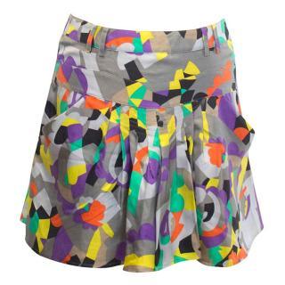 See by Chloe print skirt