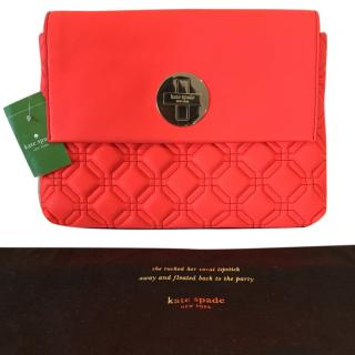Kate Spade Quilted Large Clutch