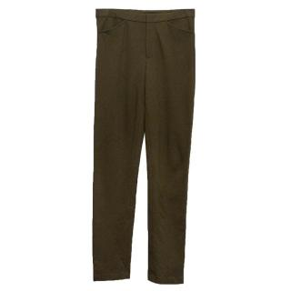 Ralph Lauren khaki stretch trousers