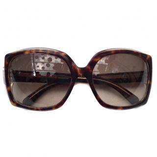 Jil Sander Oversized sunglasses