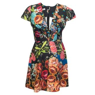 Pat Bo floral print dress