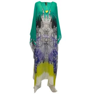 Etro multi-coloured print kaftan