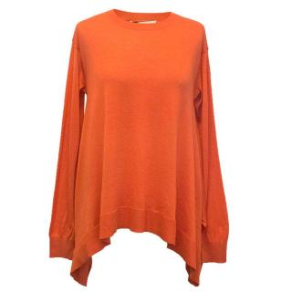 Stella McCartney orange jumper