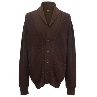 Tom Ford men's brown cardigan