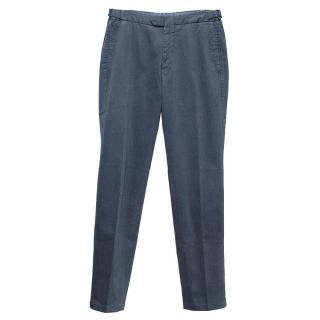 Arthur & Fox blue cargo trousers