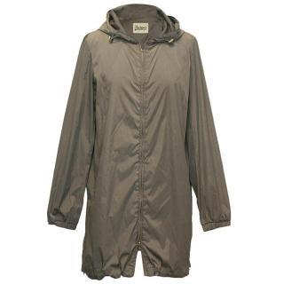 Herno khaki parka jacket